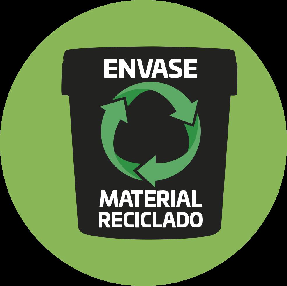 Envase reciclado