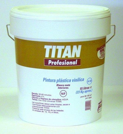 Titan profesional pintura plastica vinilica a50 - Pinturas titan precios ...