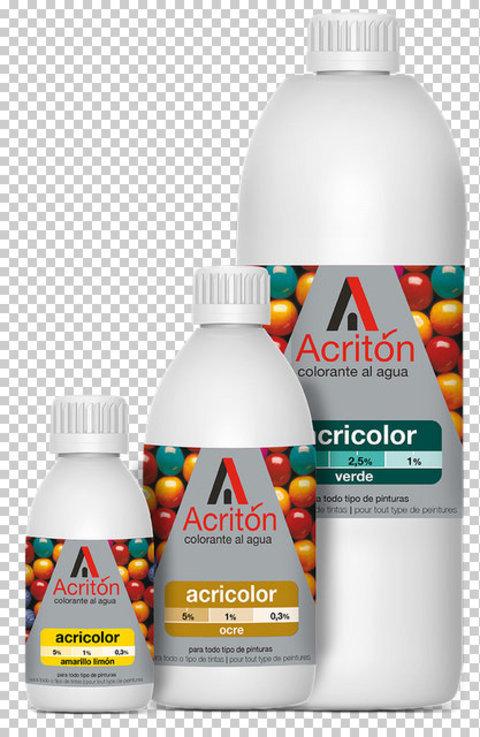 Colorante Acricolor al agua - Pinturas Lagún
