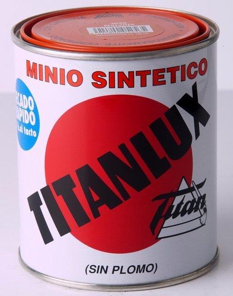 Titan decoracion imprimacion minio sintetico titanlux - Pulimento titanlux precio ...