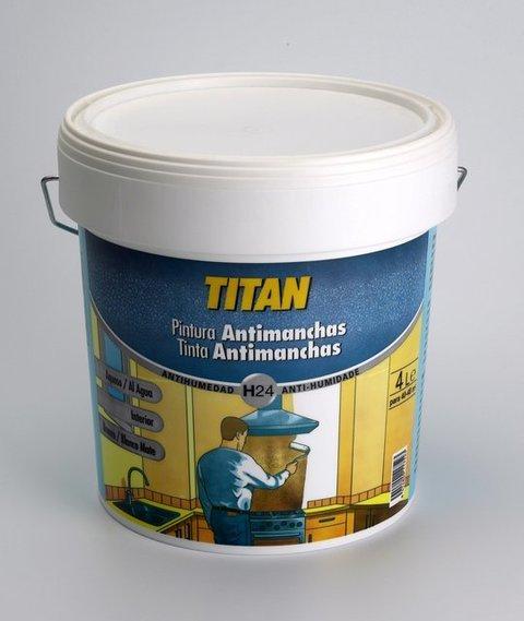Titan antihumedad h24 pintura antimanchas - Pinturas titan precios ...