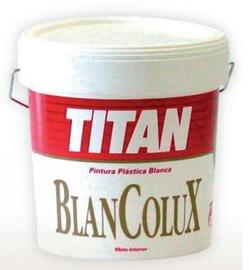 Titan profesional pintura plastica blancolux for Pinturas titan catalogo